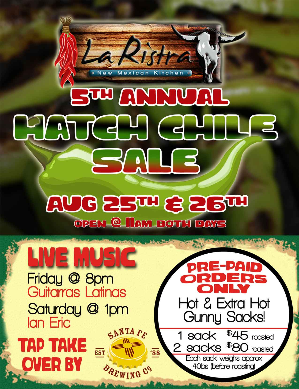 Hatch Chile Festival at La Ristra